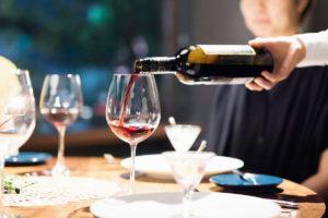幸せを味わう お食事に合うワインや季節のお飲み物を準備しております